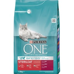PURINA ONE STERIL BOEUF ET...